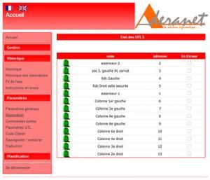 Capture d'écran IPBOX